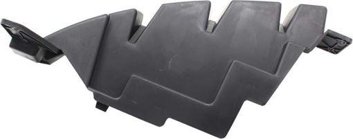 Dodge Front, Passenger Side Bumper Retainer-Black, Plastic, Replacement RD01910001