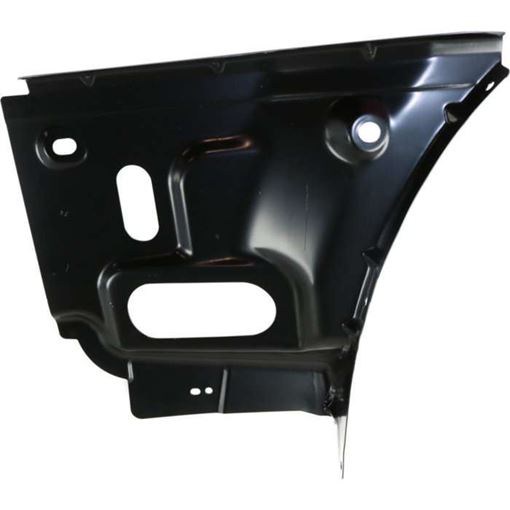 Dodge Rear, Passenger Side Bumper Bracketmper Bracket-Steel, Replacement RD76270001