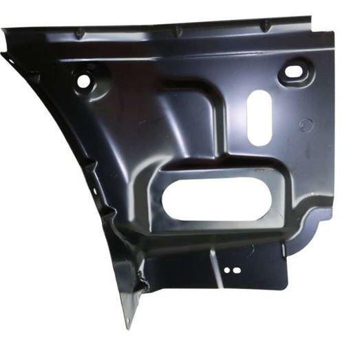 Dodge Rear, Driver Side Bumper Bracketr Bracket-Steel, Replacement RD76270002
