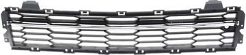 Replacement Bumper Grille Replacement Bumper Grille-Chrome Shell w/ Black Insert, Plastic | Replacement REPC015336Q