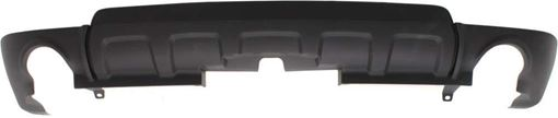 Rear, Lower Bumper Cover Replacement Bumper Cover-Textured, Plastic, Replacement REPC760153Q