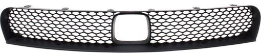 Center Bumper Grille Replacement Series-Textured Black, Plastic, Replacement REPD015319Q