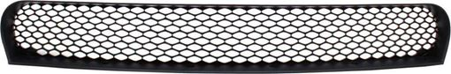 Center Bumper Grille Replacement Series-Textured Black, Plastic, Replacement REPD015322Q