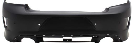 Bumper Cover, Charger 15-17 Rear Bumper Cover, Primed, W/ Ipas Holes, (Daytona/R/T 392/R/T Scat Pack/Srt) - Capa, Replacement REPD760159PQ