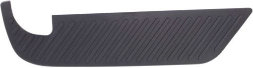 Bumper Step Pad, F-Series 97-04 Rear Bumper Step Pad, Lh, Upper, Style Side, Except Crew Cab, Replacement REPF764918