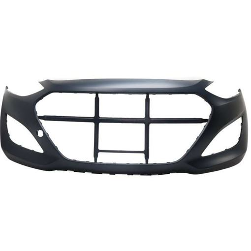 Bumper Cover, Elantra Gt 13-17 Front Bumper Cover, Primed - Capa, Replacement REPH010394PQ