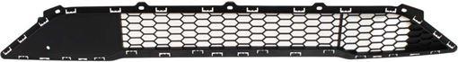 Hyundai Bumper Grille-Textured Black, Plastic, Replacement REPH015334Q
