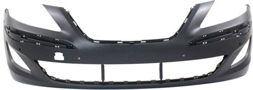 Hyundai Front Bumper Cover-Primed, Plastic, Replacement REPHY010303PQ
