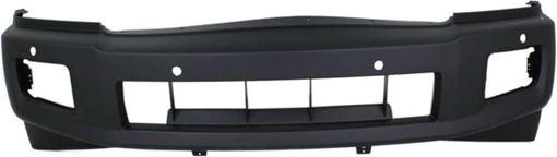 Bumper Cover, Qx56 04-10 Front Bumper Cover, Primed, W/ Distance Sensors, Replacement REPI010321P