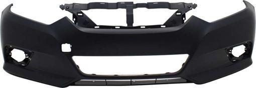 Nissan Front Bumper Cover-Primed, Plastic, Replacement REPN010371PQ
