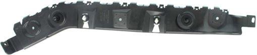 Ford Rear, Driver Side Bumper Bracketr Bracket-Steel, Replacement RF76270016