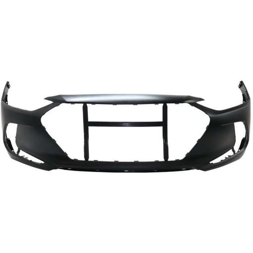 Hyundai Front Bumper Cover-Primed, Plastic, Replacement RH01030007P