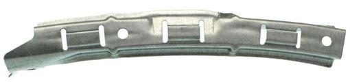 Honda Front, Passenger Side Bumper Bracket-Steel, Replacement RH01310017