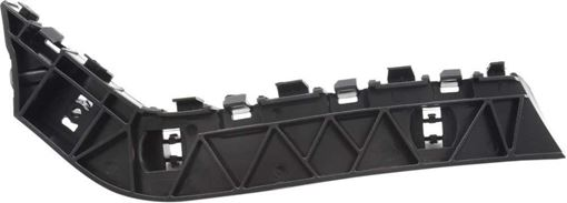 Honda Front, Passenger Side Bumper Retainer-Black, Plastic, Replacement RH01490003