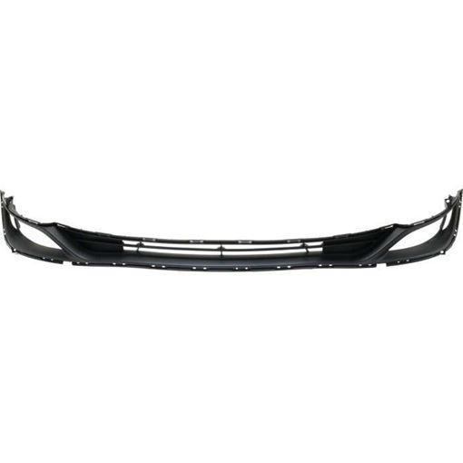 Bumper Grille, Sonata 14-14 Front Bumper Grille, 2.4L, Exc. Hybrid Model, Replacement RH01530006