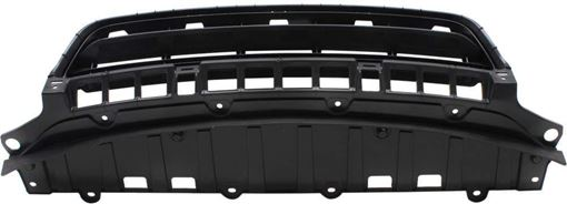 Bumper Grille, Civic 09-11 Front Bumper Grille, Spoiler Assy, Txtd Blk, (Exc. Hybrid Model), Sdn, Canada/Usa Built, Replacement RH01530008