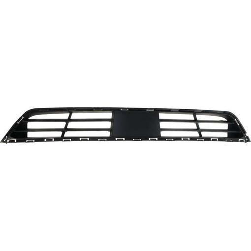 Hyundai Bumper Grille-Textured Dark Gray, Plastic, Replacement RH01530009