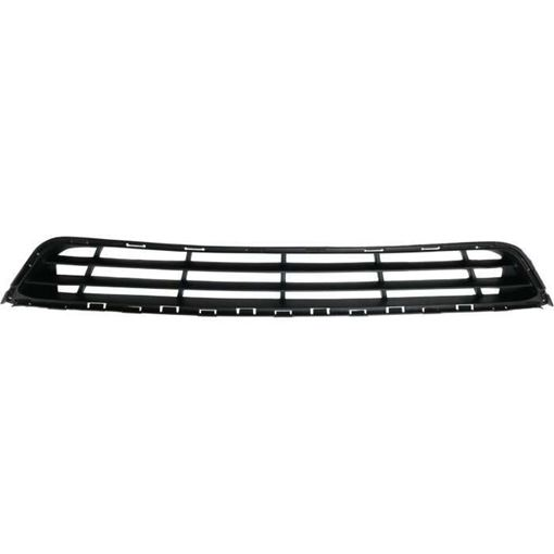 Hyundai Bumper Grille-Textured Dark Gray, Plastic, Replacement RH01530010
