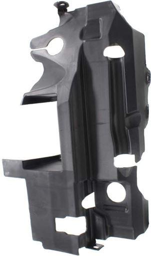 Honda Front, Passenger Side Bumper Retainer-Black, Plastic, Replacement RH01910003
