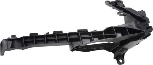 Honda Front, Passenger Side Bumper Retainer-Black, Plastic, Replacement RH01910009