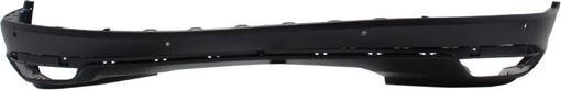 Honda Rear, Lower Bumper Cover-Textured, Plastic, Replacement RH76010007Q