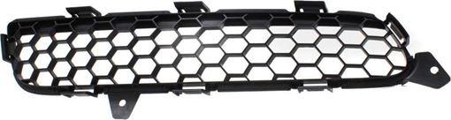Infiniti Driver Side Bumper Grille-Textured Black, Plastic, Replacement RI01570001