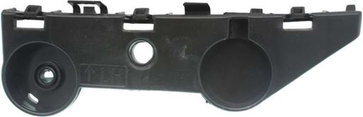Infiniti Rear, Driver Side, Upper Bumper Bracket-Plastic, Replacement RI76270002