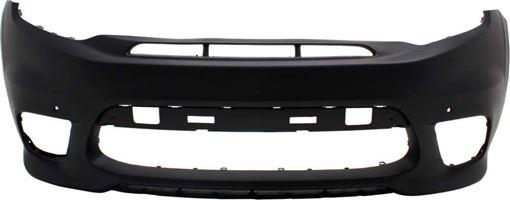 Jeep Front Bumper Cover-Primed, Plastic, Replacement RJ01030009P