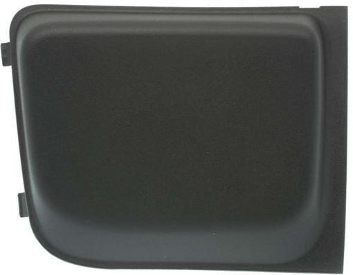 Jeep Passenger Side Bumper Grille-Textured, Plastic, Replacement RJ01550005