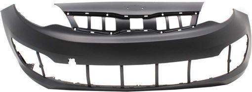 Kia Front Bumper Cover-Primed, Plastic, Replacement RK01030002P