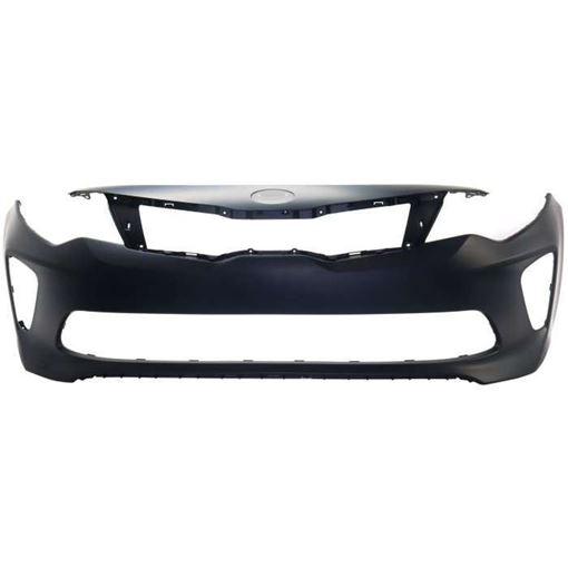 Kia Front Bumper Cover-Primed, Plastic, Replacement RK01030003P