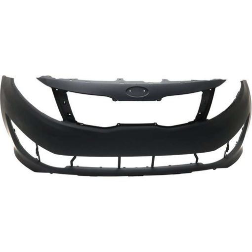 Bumper Cover, Optima 11-13 Front Bumper Cover, Primed, Sx Model, Usa Built - Capa, Replacement RK01030005PQ