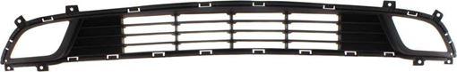 Kia Bumper Grille-Textured Dark Gray, Plastic, Replacement RK01530002