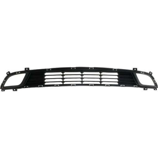 Kia Bumper Grille-Textured Dark Gray, Plastic, Replacement RK01530002Q