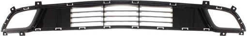 Kia Bumper Grille-Black, Plastic, Replacement RK01530003Q