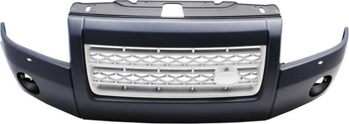 Bumper Cover, Lr2 08-08 Front Bumper Cover, Primed, W/ Parking Aid Snsr Holes, To Vin 058104, Replacement RL01030005P