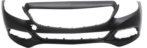 Mercedes Benz Front Bumper Cover-Primed, Plastic, Replacement RM01030005PQ