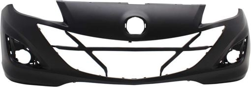 Mazda Front Bumper Cover-Primed, Plastic, Replacement RM01030007P