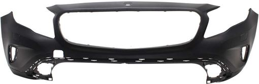 Mercedes Benz Front Bumper Cover-Primed, Plastic, Replacement RM01030025P