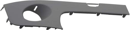 Bumper Trim, Cooper 07-10 Front Bumper Molding Rh, Outer, Prmd, W/O Aero Pkg, Base Model, (Conv 09-10, W/O Chr Trim)/Hb/Wgn, Replacement RM01610003