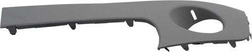 Mini Front, Driver Side Bumper Trim-Primed, Plastic, Replacement RM01610004