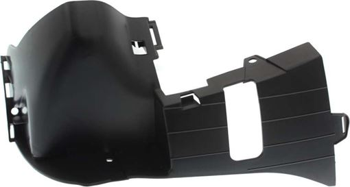 Mercedes Benz Front, Driver Side Bumper Retainer-Black, Plastic, Replacement RM01910002