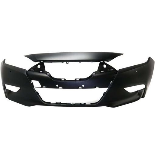Nissan Rear Bumper Cover-Primed, Plastic, Replacement RN01030002PQ