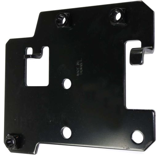 Nissan Front, Driver Side Bumper Bracket-Steel, Replacement RN01310004