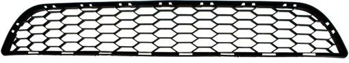 Bumper Grille, Sentra 16-18 Front Bumper Grille, Txtd Black, W/O Intelligent Cruise Control, (Exc. Nismo Model), Replacement RN01530002