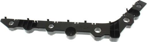Nissan Rear, Driver Side Bumper Bracketr Bracket-Steel, Replacement RN76270004