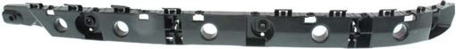 Nissan Rear, Driver Side Bumper Bracketr Bracket-Steel, Replacement RN76270008