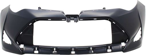 Toyota Front Bumper Cover-Primed, Plastic, Replacement RT01030001P