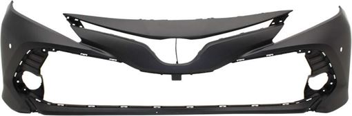 Toyota Front Bumper Cover-Primed, Plastic, Replacement RT01030015P