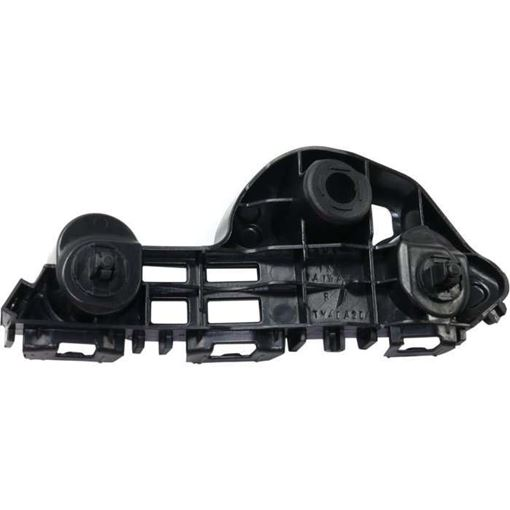 Toyota Front, Passenger Side Bumper Retainer-Black, Plastic, Replacement RT01490003